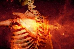 Skeleton Fire Back
