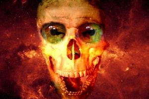 Skeleton Fire Eyes