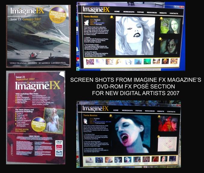 IMAGINE FX SHOTS