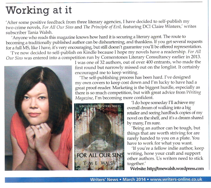 Writing Magazine 2014